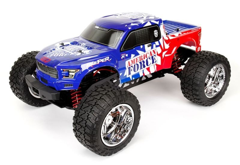 Reeper Force Edition 1/7 BL Monster Truck RTR 4-6S WP