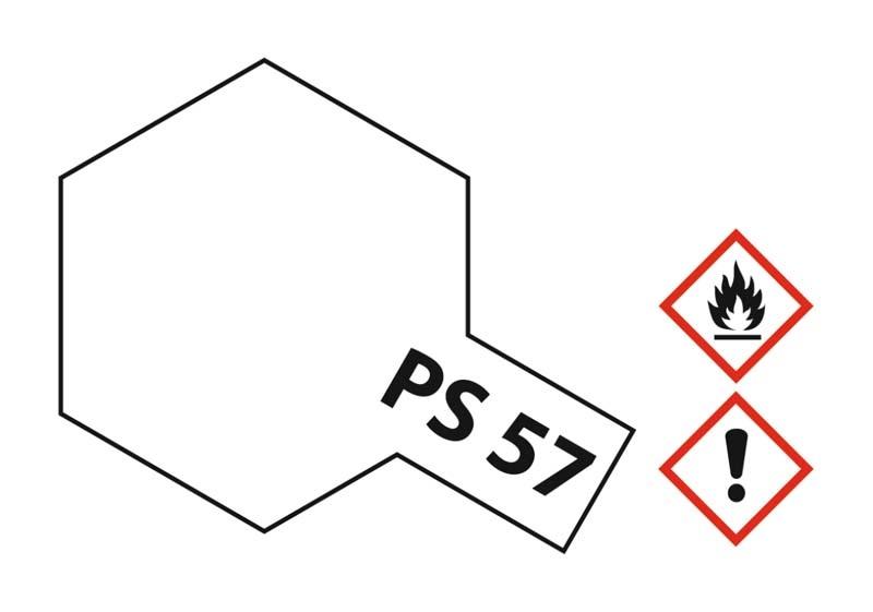 PS-57 Perleffekt Weiss Polycarbonat 100ml