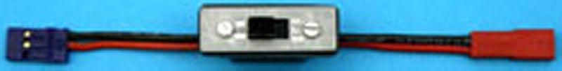 Schalterkabel JR-Servost. -> BEC-Stecker, ohne Ladebuchse, 0