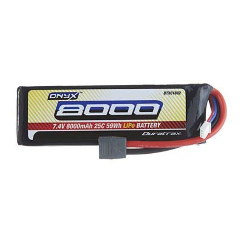 Onyx LiPo 7.4V 8000mAh Star/T-Stecker 25C 2S Soft