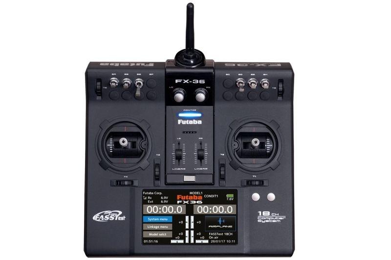 FX36 Pultsender + R7008SB Empfänger 2.4GHz FASSTest