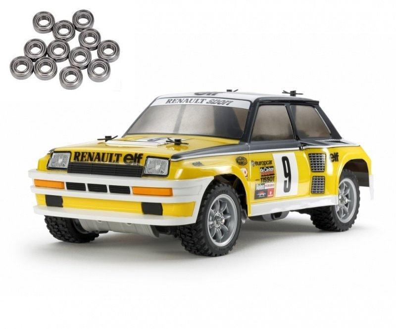 Renault 5 Turbo Rally 2WD 1:12 M-05Ra Bausatz + Kugellager