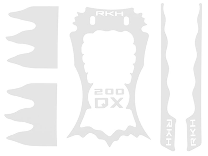 Sticker Skin for CNC Advanced Upgrade Kit (White) 200QX