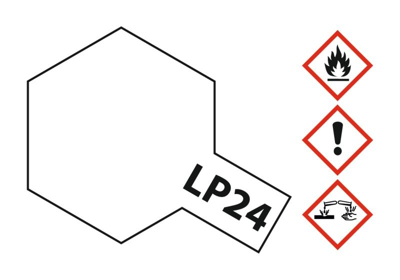 LP-24 Klarlack seidenmatt Kunstharzfarbe 10ml