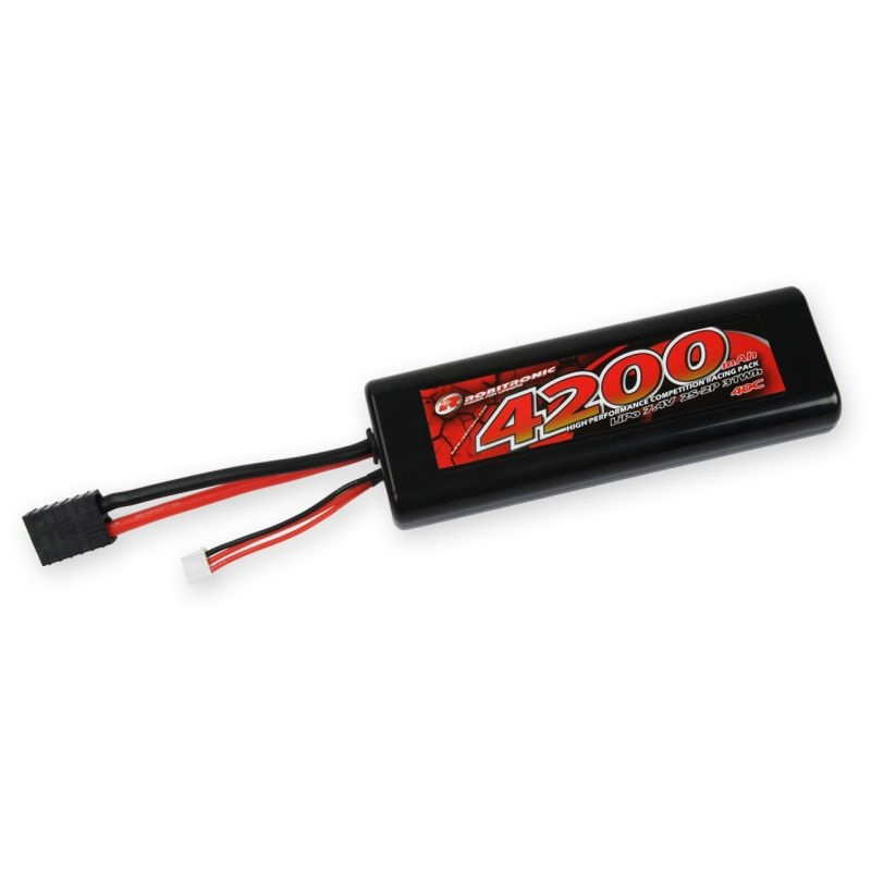 LiPo 7.4V 4200mAh 40C 2S1P Racing Pack rund TRX-Stecker