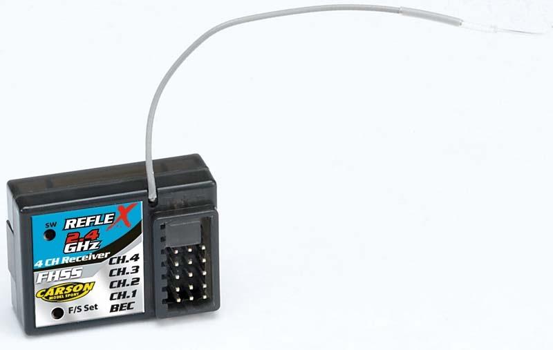 Empfänger Reflex-X / LCD 3-Kanal 2,4 G