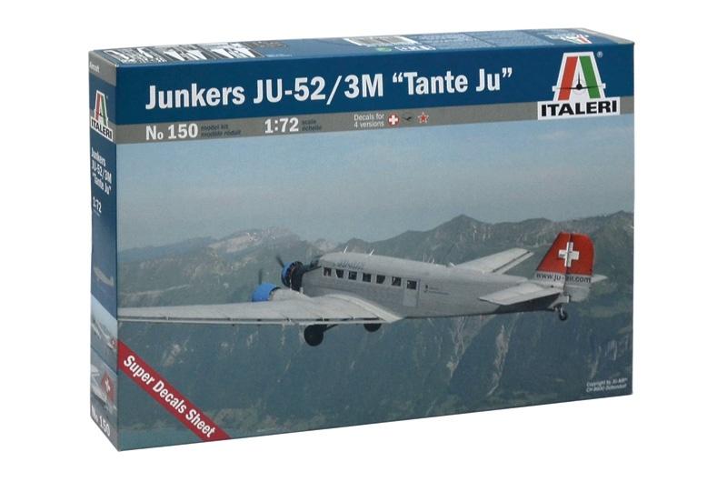 1:72 JUNKERS JU-52 3/m TANTE JU LH