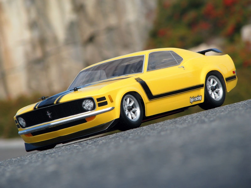 HPI Ford Mustang Boss 302 1970 Karosserie (200mm) - H17546 | eBay