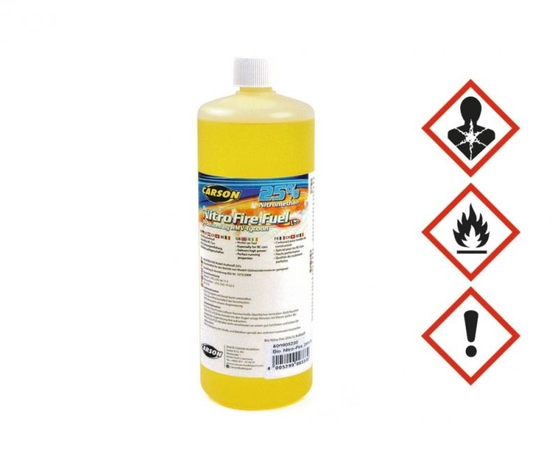 Kraftstoff Bio Nitro-Fire 25% (1 Liter)
