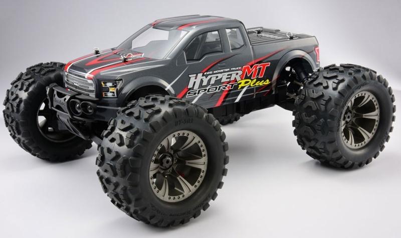 Hyper 4WD Monster Truck 1/8 Brushless 6S 2,4GHz RTR, grau