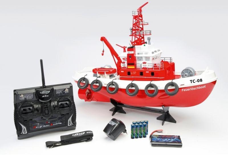 RC-Feuerlöschboot TC-08 2.4Ghz 100% RTR