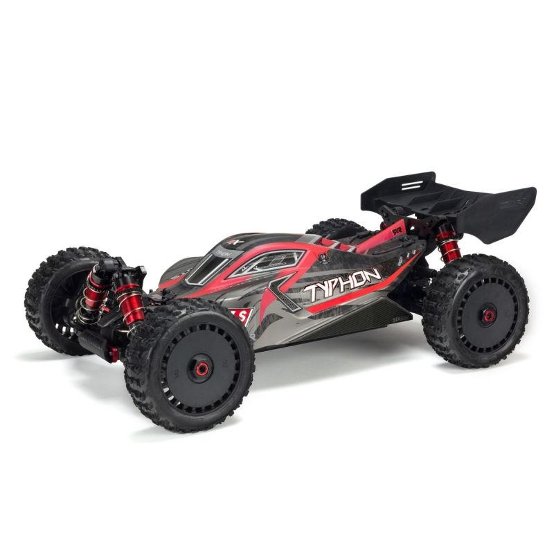 TYPHON 6S BLX 4WD Brushless Buggy 2,4GHz RTR, rot/grau