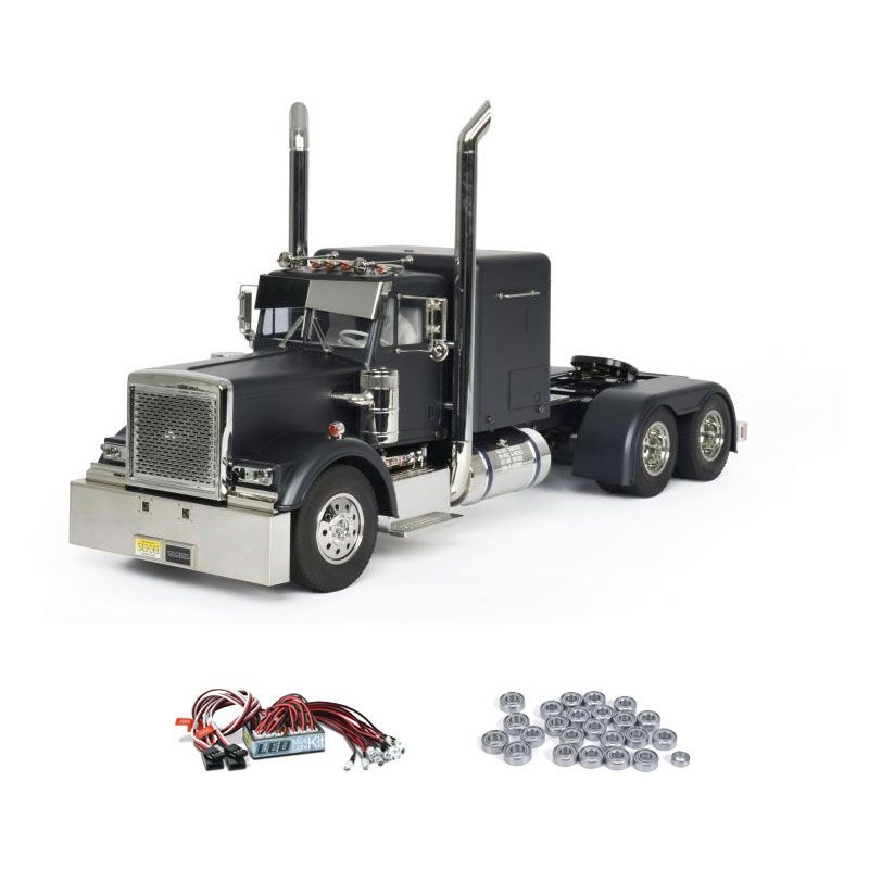 Grand Hauler schwarz matt Edition 1:14 2,4GHz Komplettset