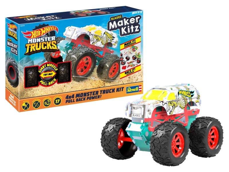 HOT WHEELS Maker Kitz Monster Truck Hissy Fi