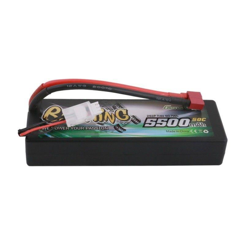 Bashing LiPo Akku 5500mAh 7,4V 2S 50C Hardcase mit T-Plug