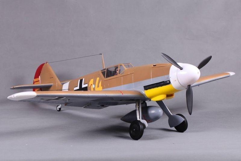 Messerschmitt BF 109 F Warbird Flugmodell 1400mm PNP