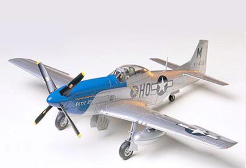 US P-51D Mustang North American 1:48