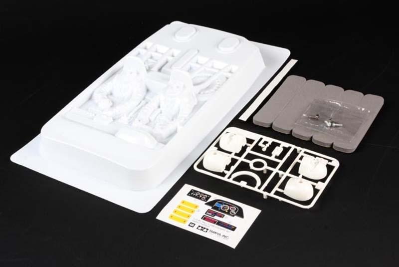 1:10 Rallye-Cockpit-Set Linkslenker