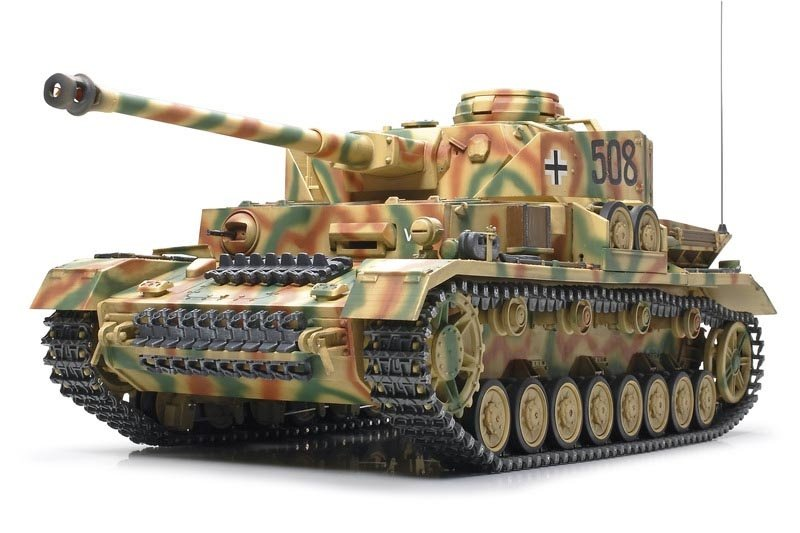 tamiya panzer iv rc 39 full option 39 56026 eur 699 95. Black Bedroom Furniture Sets. Home Design Ideas
