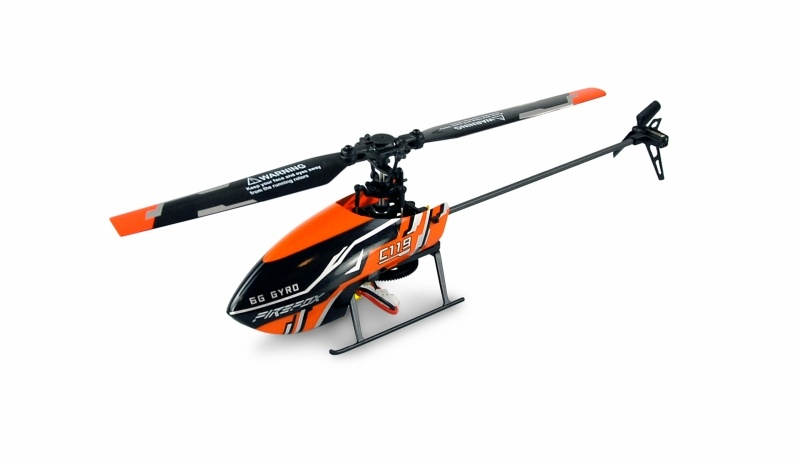 AFX4 Single Rotor Helikopter 4-Kanal 6G 2,4GHz RTF