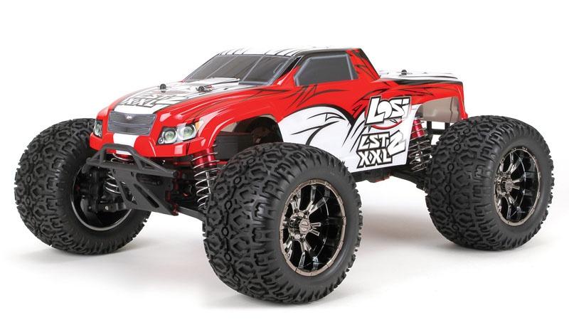 LST XXL 2 RTR 2,4GHz 1/8 4WD 5ccm Benzin Monster Truck