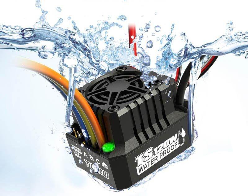Toro TS120A ESC 1/10 2-3s LiPo Waterproof sensorlos