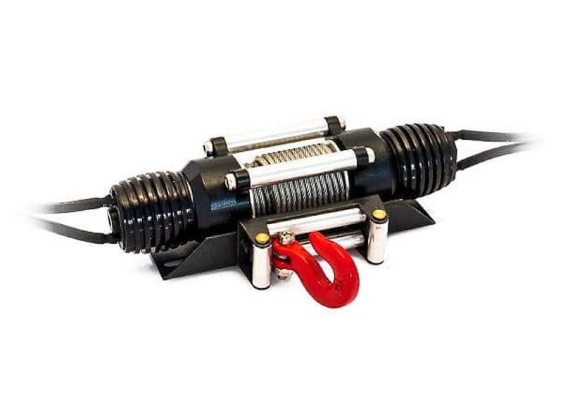 Zweimotorige Seilwinde automatisch mit 3-Stufen Schalter