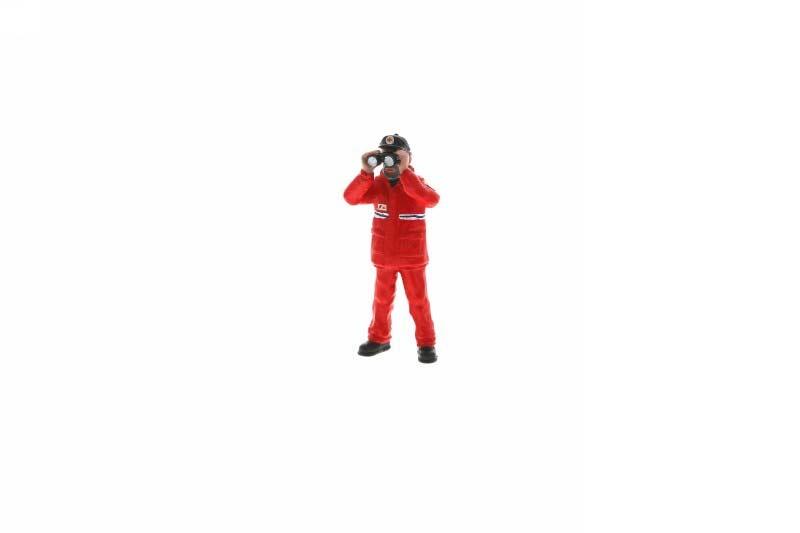 Maschinist stehend DGzRS M1:20 Figur