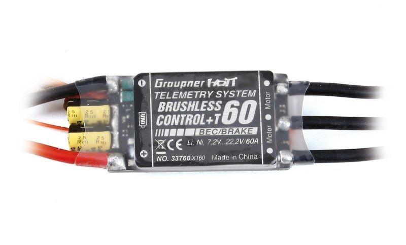 Regler BRUSHLESS CONTROL + T 60 XT-60