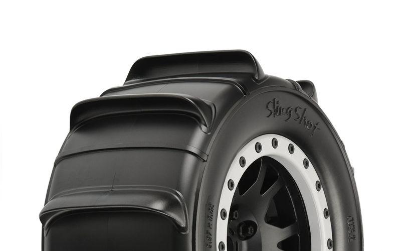 Sling Shot 4.3 Pro-Loc Sand Reifen auf Felge für X-Maxx