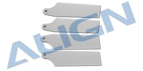 Heckrotorblatt 69 3K, weiß für T-REX 450L / 470L