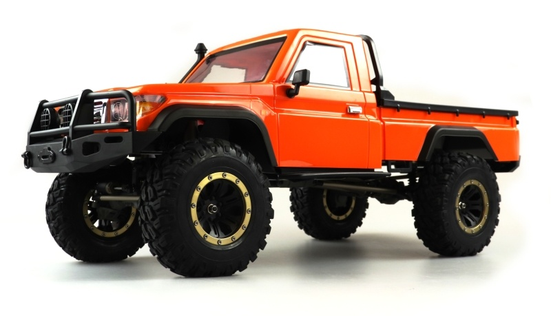 RCX8P Scale Crawler Pick-Up 1:8, RTR orange