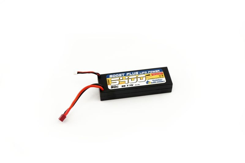 BOOST PLUS Lipo Power Akku 7,4V 50C 5400mAh 2S mit T-Plug