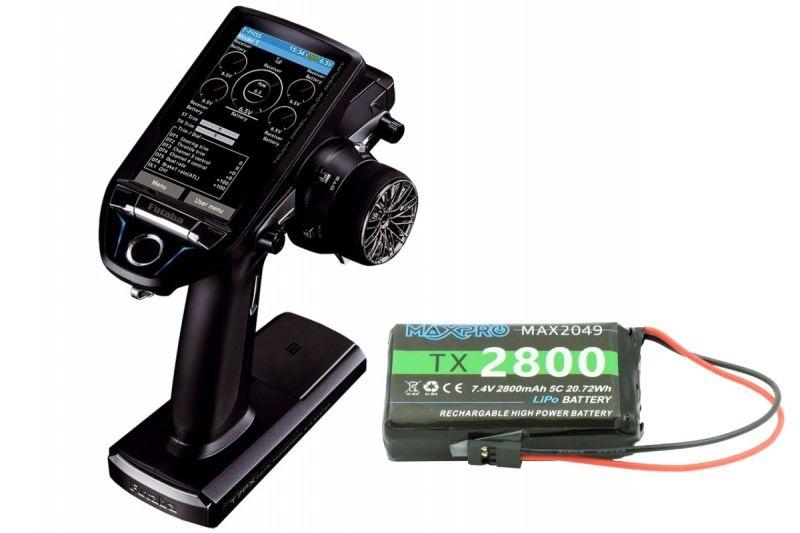 T7PX 7-Kanal Telemetrie Fernsteuerung Touch + R334SBS + LiPo