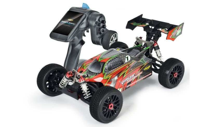 Virus 4.1 4S Brushless 4WD Buggy 1/8 2,4GHz RTR