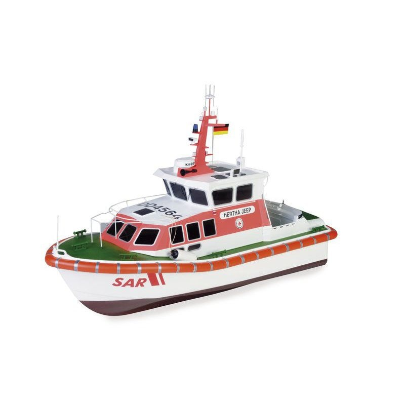 Seenotrettungsboot der 9,5/10,1 Meter Klasse, 1:20, Bausatz