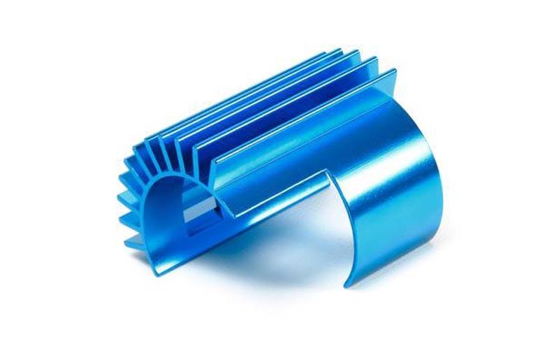 TT-02/ TT-02B Alu Motorkühlkörper Blau eloxiert
