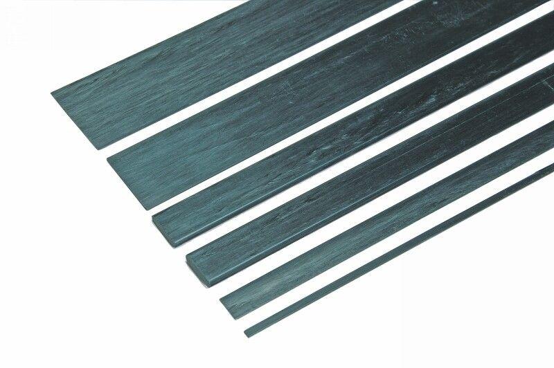Kohlefaser Vierkantstab 3x0,8x1000mm