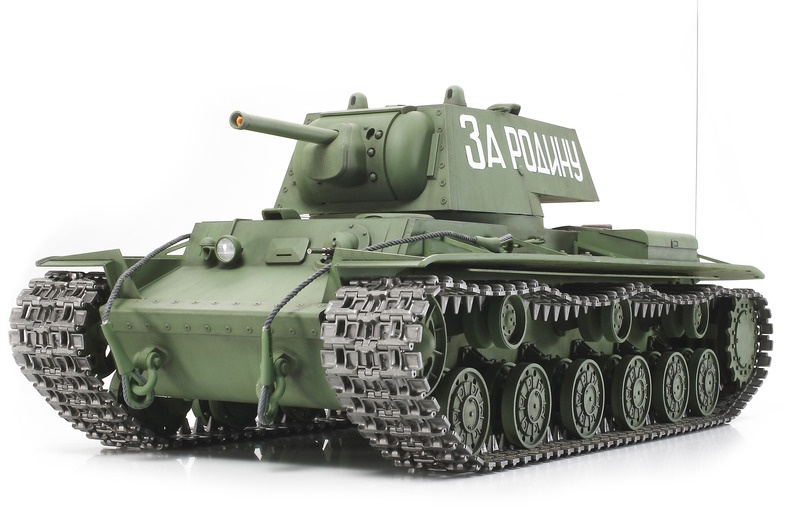 Russischer Panzer KPz KV-1 Full Option RC Bausatz
