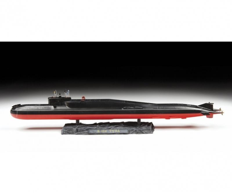 Delfin Nuklear U-Boot Delta IV KI 1:350 Plastik Bausatz