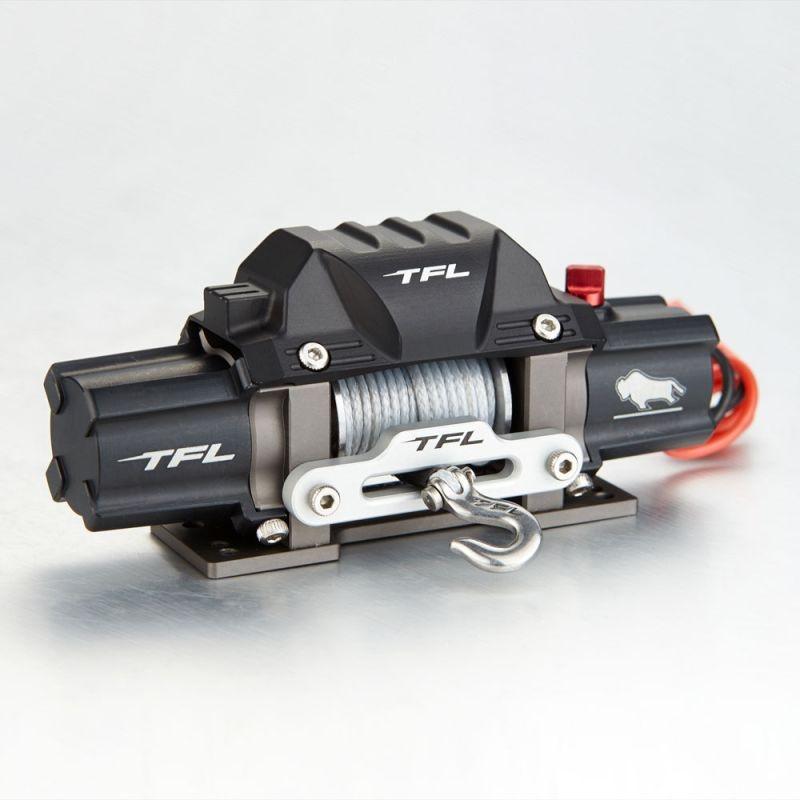 Seilwinde A mit 2 Motoren für Crawler 1/10