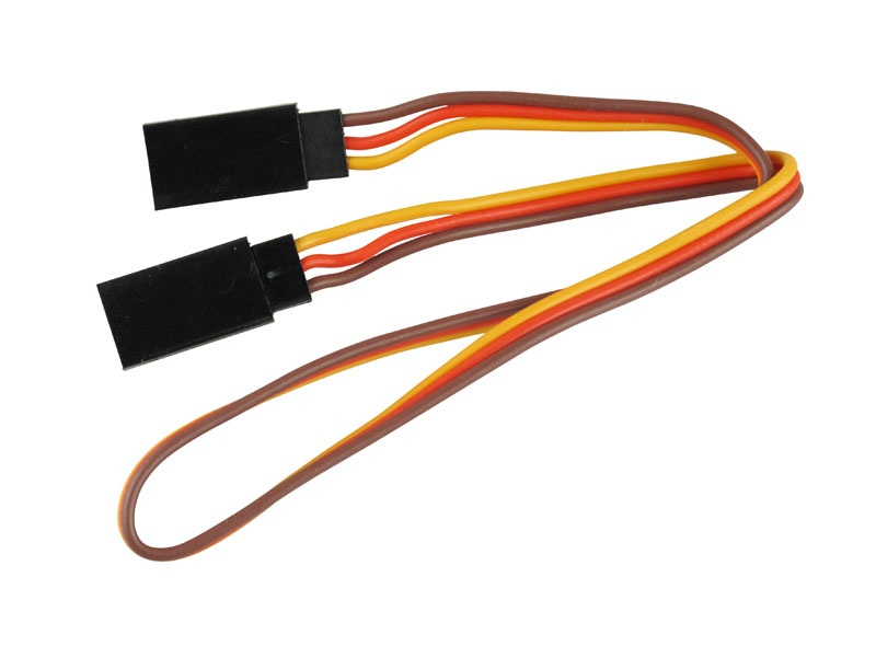 Servo-Patch-Kabel  Goldkontakt  UNI  Stecker  30cm