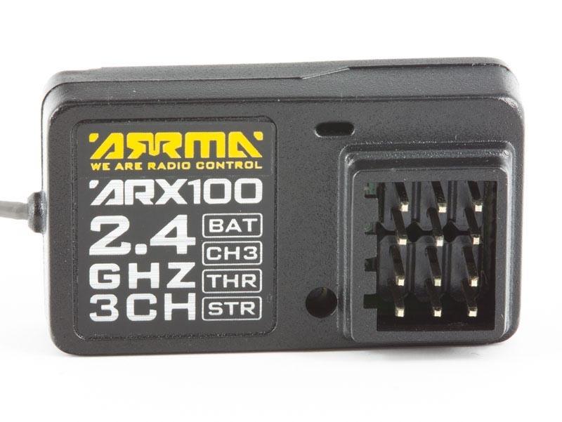 ARRMA ARX100 Empfänger 2,4GHz 3-Kanal