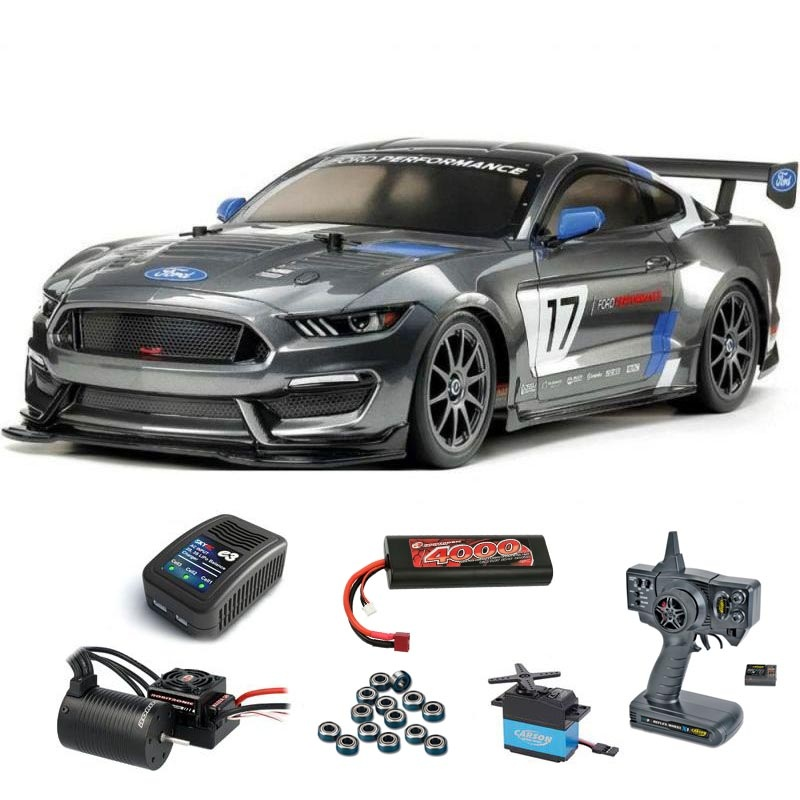 Ford Mustang GT4 4WD Onroad TT-02 1/10 Brushless Set