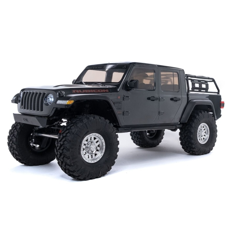 SCX10 III Jeep JT Gladiator with Portals 4WD 1/10 RTR, grau