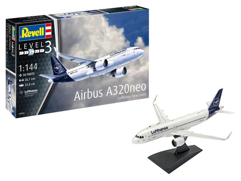 Airbus A320 Neo Lufthansa New Livery Bausatz 1:144