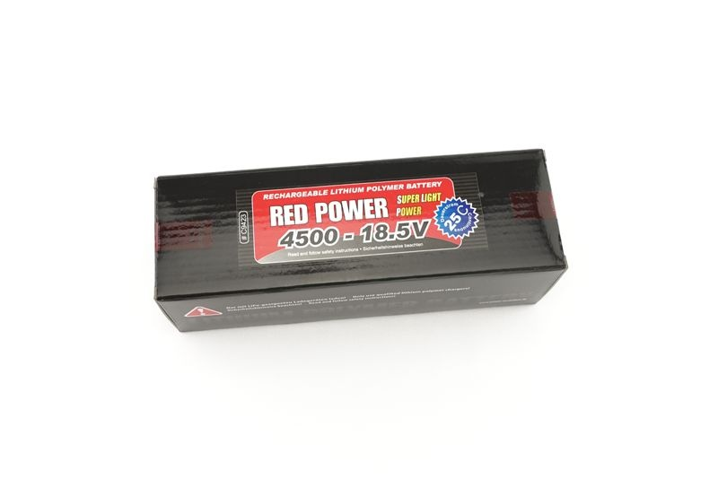 LiPo Akku RED POWER SLP 4500mAh 18,5V 5S 25C