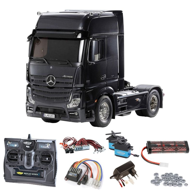 Mercedes Benz Actros 1851 GigaSpace Black Komplett,LED,Lager