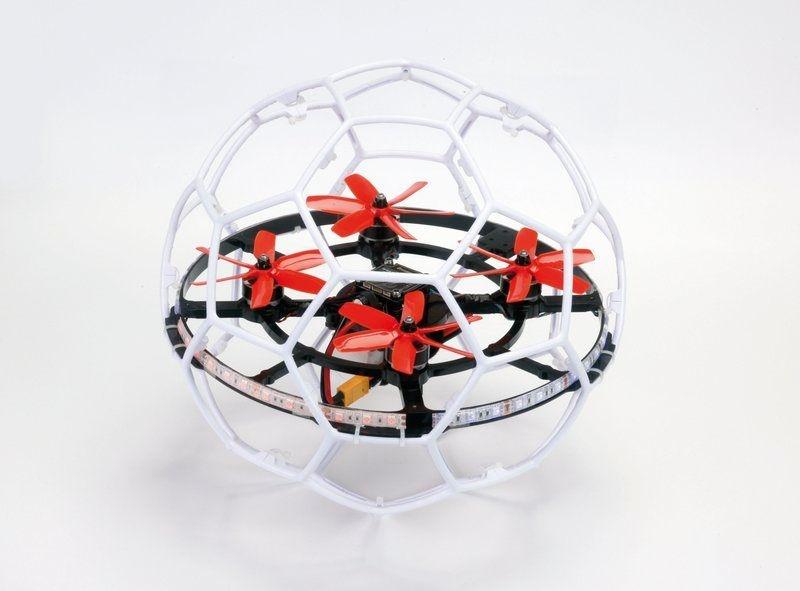 SWEEPER Kit Droneball / Quadrocopter mit Schutzrahmen RTF