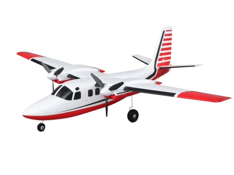 UMX Aero Commander 715mm AS3X BNF Basic